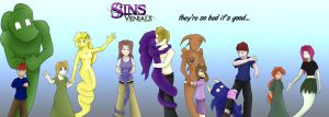 sins and hosts by thereisnosaurus