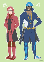 ORAS Maxie and Archie by inesp22