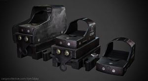 Docter red dot sights by Tom3dJay