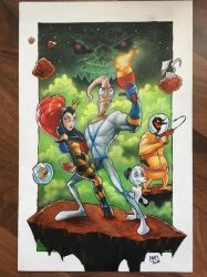 Earthworm Jim by Mantroon