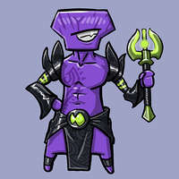 Dota Fanart v2 - Faceless Void by KidneyShake