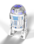 R2D2 Action FIgure 3D Model by peterhirschberg