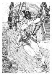 PIRATE WOMAN by GrievousGeneral