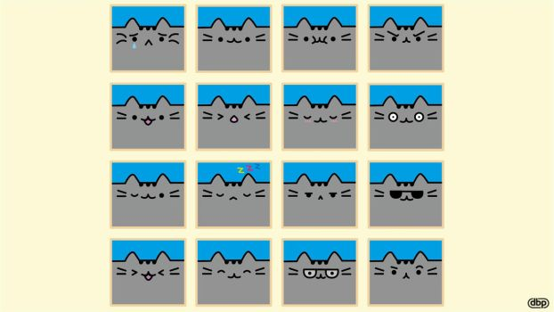 What is your mood today? [Pusheen the Cat] by danielboveportillo