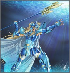 Poseidon Saint Cloth Myth 15th ann.  by Juni-Anker