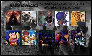 My Top 10 Favorite Dead Stories and Franchises by 4xEyes1987