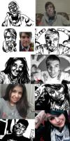DRAW FACES by Breaky