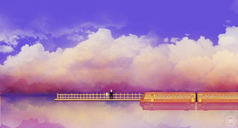 spirited away: departure. by sugarmints