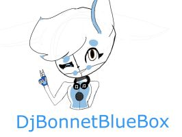 My Oc by DjBonnetBlueBox