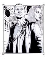 Doctor Who  and Rose Tyler by StevenWilcox