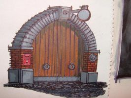 trevor the magic gate by moather