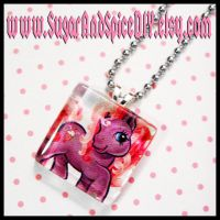 My Little Pony Glass Pendant by wickedland