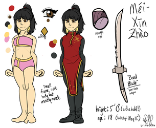 Mei-Xin Zhao Ref by Shadow0Haven