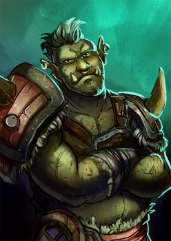 Monster March - Orc by Monkanponk