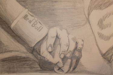Hands Pencil Work by Wriga