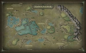 Map of Thyandul by Sarithus