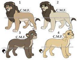 Lion adoptables OPEN by LDK7913