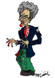 Zombie 12th Doctor by tard15