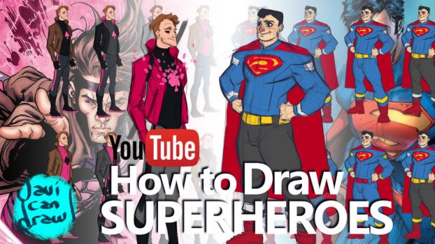 how to draw superheroes pdf