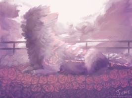 Rose Pasture by Claudsyi