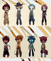 Random auction adopts -AUCTION ENDED- by Kurikipi