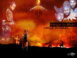 KA Cirque Du Soleil by PaintGirl-just-one