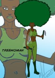 Treewoman (By Peter Stylianou) by PeterVsAll