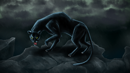 Panther by WingedJackal