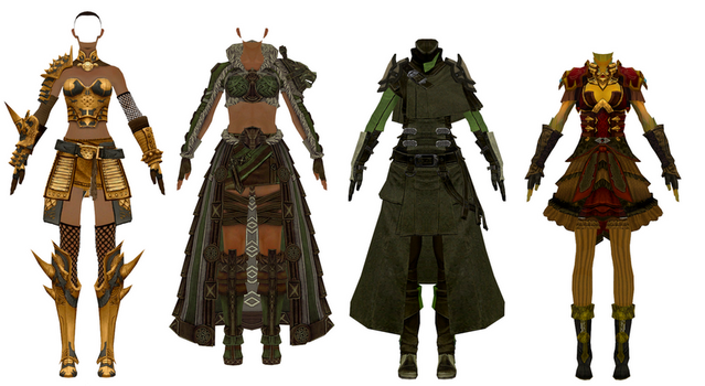 MMD Download - GW2 - Pack 5 by Drysmath