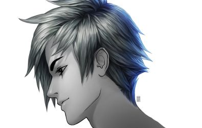 Painting anime hair...image by Valentina-Remenar