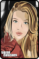Art Vector using Gta Effect in photoshop- Taise .C by junnioor