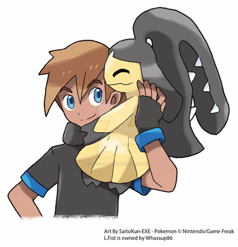 Commission: L.Fist and Mawile by SaitoKun-EXE