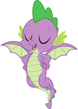 Vector #905 - Spike #23 by DashieSparkle