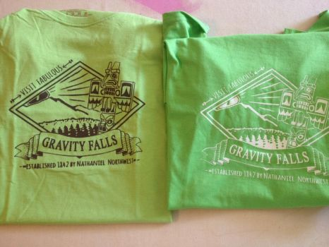 gravity falls Tee by UpstageGallery