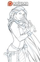 MARA JADE FINISHED PENCILS by VampressLuxura