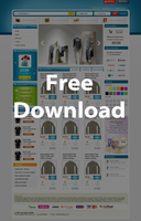 Free E-Commerce Web .PSD by interfacedesigner