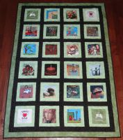Sprite Stitch Charity Quilt 2 - 2013 by quiltoni