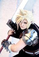 Cloud ~ Let's fight! by GoddessOfValhalla