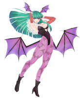morrigan by jinnichirou
