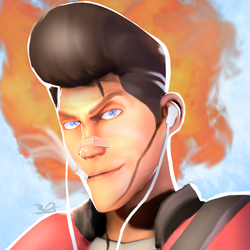 SFM: lol that's a burning elvis [Commission] by 3DylanStar