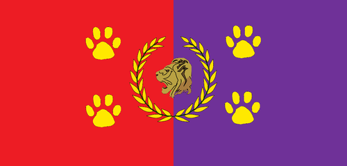 Flag of Feline Empire by KingSejong