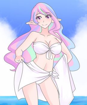 Celestial Summer (30 minute quickdraw) by JonFawkes