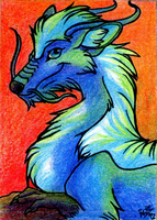 Eloren- ACEO trade by Nothofagus-obliqua