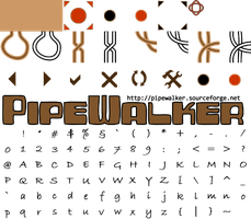 Pipewalker KNOTWORK theme (0.9.3 or newer) by LauraSeabrook