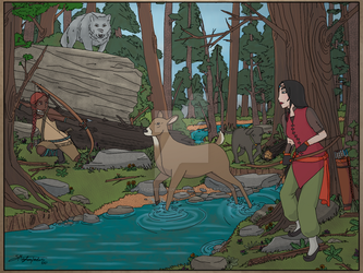 Winona and Islanamara go on a Hunting Trip by WolfChiefsDaughters