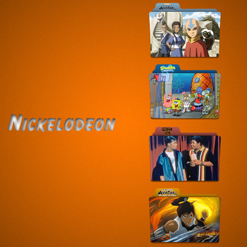 Nickelodeon Folder Icon Pack by Kliesen
