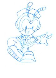 Charmy Bee by CartoonWatch