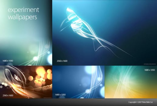 experiment Wallpapers by petercui