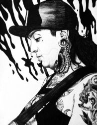 Tony Perry - In thought by I-Draw-Bands