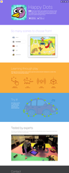 Happy Dots - microsite by PiP3R-CZ